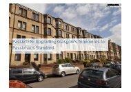 PassivTEN: Upgrading Glasgow's Tenements to Passivhaus Standard