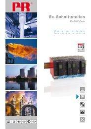 Ex-Schnittstellen - PR electronics