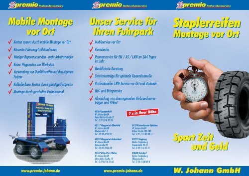 premio Johann 2012.FH9 - W. Johann GmbH