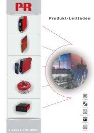 Produkt-Leitfaden - PR electronics
