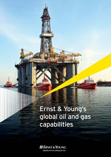 Ernst & Young's global oil and gas capabilities