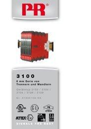 SIGNALS THE BEST 6 mm Serie von Trennern und ... - PR electronics