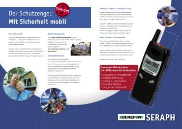 Seraph Broschüre - Presentec GmbH