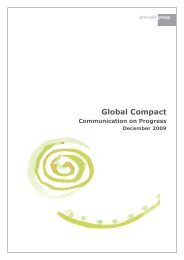 Global Compact - Pressalit A/S