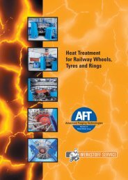 Heat Treatment for Railway Wheels, Tyres and Rings - PressTrade