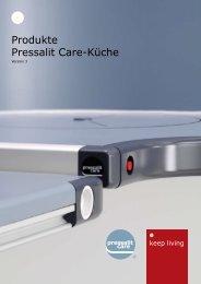 Produkte Pressalit Care-Küche - Pressalit A/S