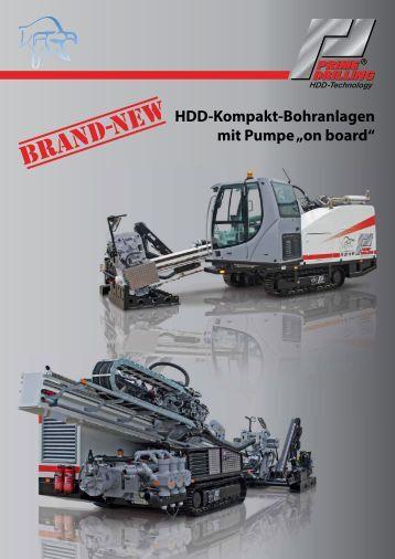"HDD-Kompakt-Bohranlagen mit Pumpe ""on  board"" -  Prime Drilling ..."