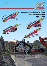 HDD-Bohranlagen PDF 4 MB - Prime Drilling GmbH