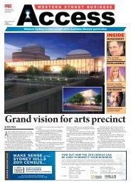 vision for arts precinct Grand
