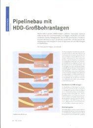 Pipelinebau mit HDD-Großbohranlagen - Prime Drilling GmbH