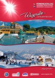 Ferienkatalog Winter 2010/11 & Sommer 2011 Gastgeber, Preise & Infos