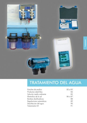 Estuches de analisis 82 a 83 Productos Label bleu 84 ... - Procopi