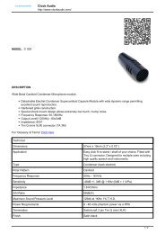 Opencart Product Catalog - prodyTel