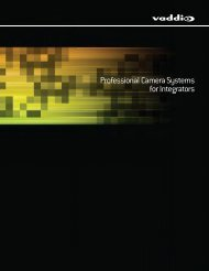Professional Camera Systems for Integrators - Vaddio