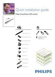 Philips GreenPower LED module -  professional lighting