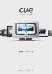 Download PDF here. - Cue Control Systems