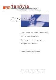 Expertise - Pro Familia