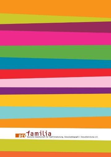 Jahresbericht pro familia Hanau 2010