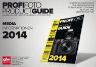 Download Mediadaten PROFIFOTO ProductGuide 2014 (german)