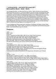 weitere Infos + Spielzeiten (PDF 48 KB) - PROGRESS Film-Verleih