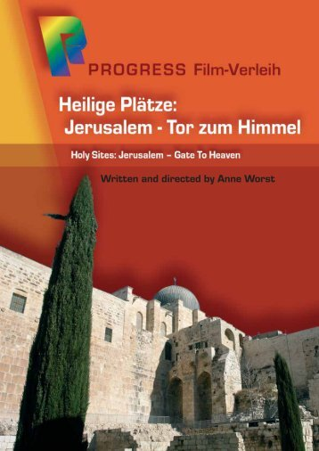 Werberatschlag PDF - PROGRESS Film-Verleih