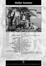 Heißer Sommer - PROGRESS Film-Verleih