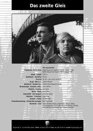 Das zweite Gleis - PROGRESS Film-Verleih