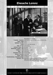 Ehesache Lorenz -  PROGRESS Film-Verleih