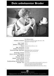 *Filbl−tter 2003-Teil1_druck - PROGRESS Film-Verleih