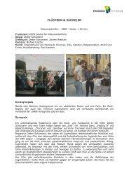 FLÜSTERN & SCHREIEN - PROGRESS Film-Verleih