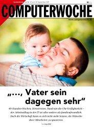 """…, Vater sein dagegen sehr"" - Projectplace"