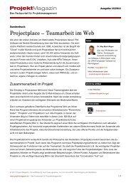 Projectplace - Teamarbeit im Web