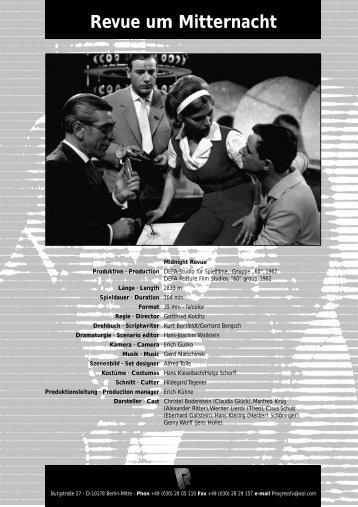 Filminfo dt. / engl. als PDF - PROGRESS Film-Verleih