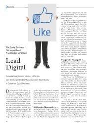Wie Social Business Führungsstil und Projektarbeit ... - Projectplace