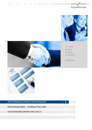 SEMINARTERMINE 2011/2012 - oose Innovative Informatik GmbH