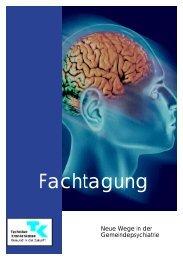Broschüre zur Fachtagung - AWOLYSIS - Gesellschaft für ...
