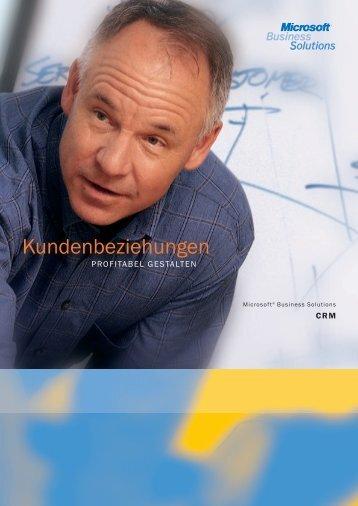 Microsoft CRM Broschüre - PROKODA GmbH