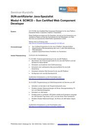 Sun Certified Web Component Developer - Prokoda