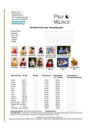 Joyk Puppen - Pro Medico