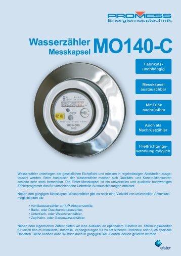 Wasserzähler - PROMESS GmbH