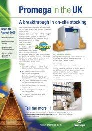 34461 PUK 18 newsletter - Promega