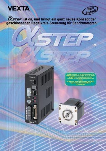 5-Phasen Schrittmotoren mit Endstufe AS/ASC-Serie - Pro/Motion ...