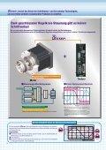 5-Phasen Schrittmotoren mit Endstufe AS/ASC-Serie - Pro/Motion ... - Seite 2