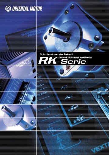 5-Phasen Schrittmotoren mit Endstufe RK-Serie - Pro/Motion ...