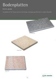 e Informationen und Bildmaterial finden Sie in - Pro  Naturstein