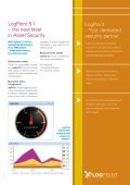 LogPoint 5.1 Product Features Robust. Dynamic. Unparalleled. - Page 3