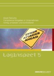 LogInspect Datenblatt V5 - ProSoft Software Vertriebs GmbH
