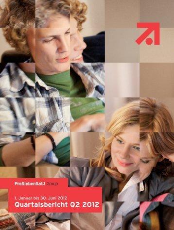 Quartalsbericht Q2 2012 - ProSiebenSat.1 Media AG