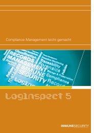 Compliance-Management mit LogInspect - ProSoft Software ...