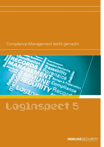 Compliance-Management mit LogInspect - ProSoft Software ...
